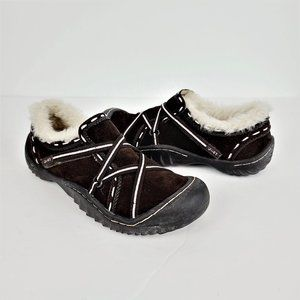 J-41 Hiking Shoes Sz 6.5M Brown Suede Upper